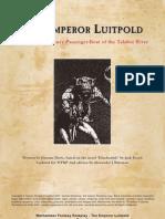 Black Industries Lost Files - The Emperor Luitpold