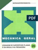 Senai - Mecânica Geral_20_Usinagem de Superfícies planas e em ângulo