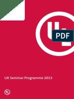 UK 2013 Training