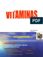 VITAMINAS HIDROSOLUBLES 2009