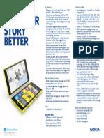 Nokia Lumia 1520 DataSheet