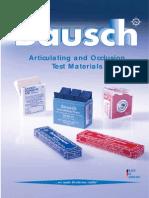 Bausch Katalog 2012