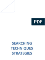 Searching Strategies