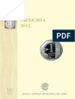 Memoria Bcrp 2012
