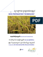 Rice Postharvest Technology (E-learning manual)