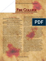 WFRP2 Classics - The Fire College