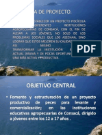 Proyecto Piscícola en Consacá