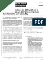 Cnfigurar Servicios de 000webhost y Google Apps en Un Dominio Comprado Directamente Con Godaddy