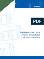 Informe Resultados SABER 5 y 9 Comparaciones 5 Municipios v2