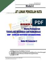 Buku Ajar Ptd Tik Kl7 Mod4 Smp Rsbi