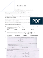 CFD Basics Review 1