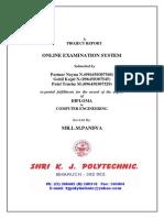 Online Exam Report1