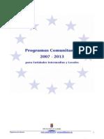 Guia Programas Europeos