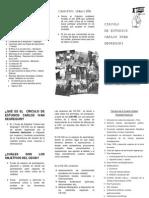 Colectivo IdeAcción - Circulo de Estudios Carlos Ivan Degregori