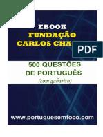 500 Questões PORTUGUES FCC com Gabarito