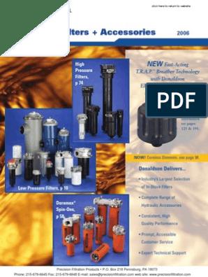 DONALDSON-P565060 Replacement Cartridge