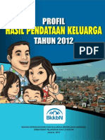Profil Pendataan Keluarga 2012