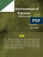 Rehan...Tax Environment