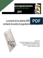 PresentacionArmandoCarvajal-LaevoluciondelossistemasSIEMdeseguridaddelainformacion