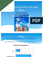 language acquisition through music