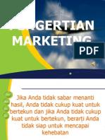 i. Pengertian Marketing