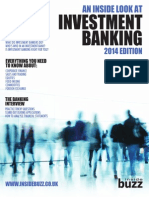 An Inside Look at Investment Banking, 2014