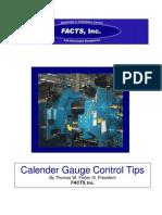 Calendering Gauge Control