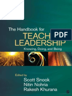 The Handbook of Teaching Leadership