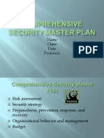 Comprehensive Security Master Plan