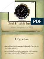 Oral Health Indices