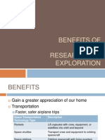 Benefits of Space