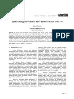 Aplikasi Penggambar Pohon Biner Huffman Untuk Data Teks