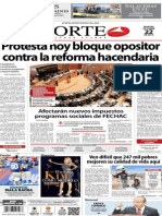 Periódico Norte de Ciudad Juárez 22 de Octubre de 2013