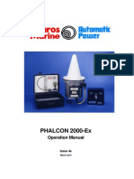 Phalcon 2000Ex Operation Manual Iss 4e