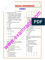 IES Mechanical Engineering Paper 1 2003