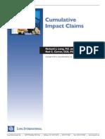 Long Intl Cumulative Impact Claims