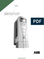 Abb Acs550 Manual(2)