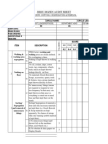Audit Sheet 1s