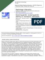 Queering gender