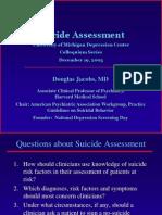StopASuicide DJacobs SuicideAssessment Slides