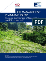 r0088 Watershed Management Planning in Esp