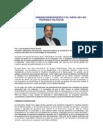 Costa Rica. El disenso democrático y el papel de los partidos políticos, LUIS GUILLERMO SOLIS