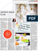 Diabetes:What to Eat and How Much to Eat