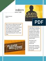 gor guest speaker task