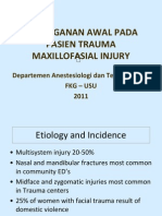2- Penanganan Awal Pada Pasien Trauma Maxillofasial Injury - Fkg an-2