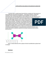 Investigating the Effectivness of PVA and PVAc as Base Polymers in the Production of a Polymer Ball
