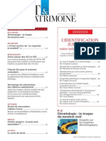 Sommaire du n° 229 de Droit & Patrimoine, octobre 2013