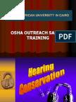 OSHA Hearing Conservation Program SHORT
