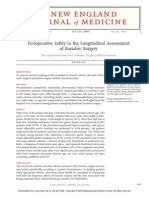 Perioperative Safety in the Longitudinal Assenssment of Bariatic Surgery