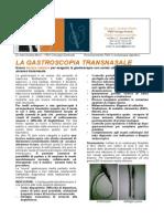La Gastroscopia transnasale